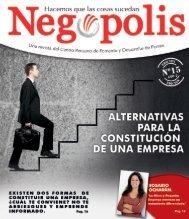 Negópolis - Edición N° 15