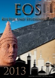 Reisekatalogpfade - EOS Kultur- und Studienreisen