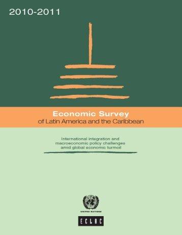 Economic Survey of Latin America and the Caribbean 2010-2011