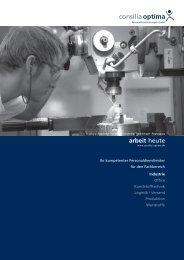 Fachbereich Industrie - Consilia Optima