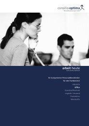 Fachbereich Office - Consilia Optima