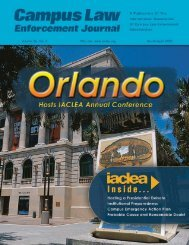 Volume 36, No. 2 - March/April 2006 Campus Law ... - IACLEA