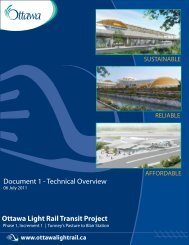 Technical Overview - Ottawa Confederation Line