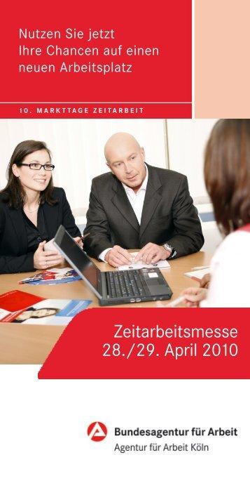 Zeitarbeitsmesse 28./29. April 2010