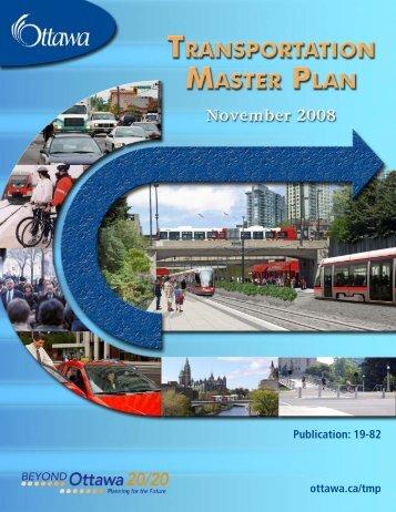 Transportation Master Plan - Ottawa Confederation Line