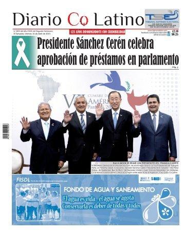 Edición 10 de Abril de 2015