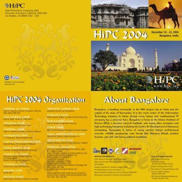 Download PDF version - HiPC