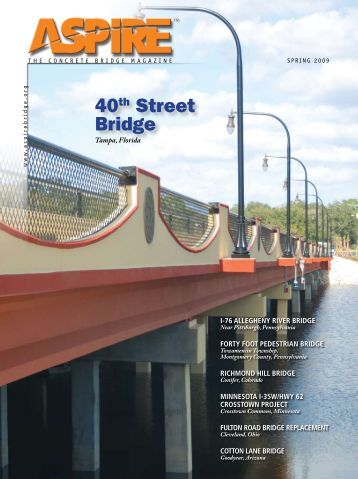 ASPIRE Spring 09 - Aspire - The Concrete Bridge Magazine