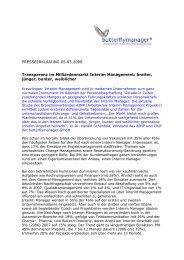 Transparenz im Milliardenmarkt Interim ... - butterflymanager