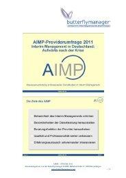 AIMP STUDIE ZUSAMMENFASSUNG - butterflymanager