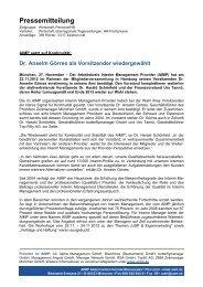 AIMP Vorstandswahl 2013 - butterflymanager