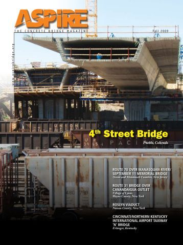 Aspire—Fall 2009 - Aspire - The Concrete Bridge Magazine