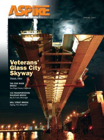 ASPIRE Spring 07 - Aspire - The Concrete Bridge Magazine