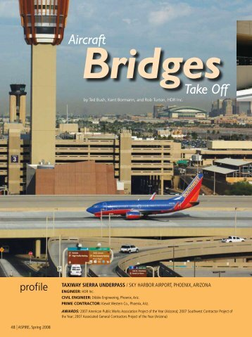 Taxiway Sierra Underpass - Aspire - The Concrete Bridge Magazine