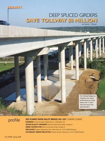 Deep Spliced Girders - Aspire - The Concrete Bridge Magazine