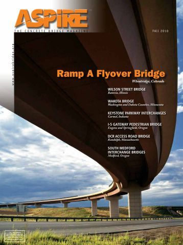 ASPIRE Fall 10 - Aspire - The Concrete Bridge Magazine