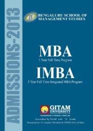 Brochure - GITAM University