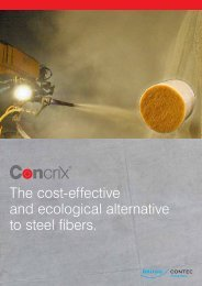 The cost-effective and ecological alternative to ... - Brugg Contec AG