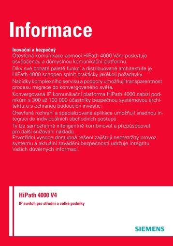 HiPath 4000 V4 - HITEL sro
