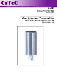 Precipitation Transmitter