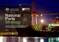 National Ports Strategy - Infrastructure Australia