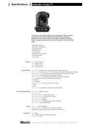 Product Datasheet (PDF) - White Light