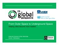 From Outer Space to Underground Space