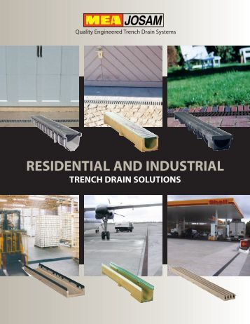 Residential and Industrial Catalog - Josam