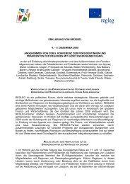 Draft working document - RegLeg