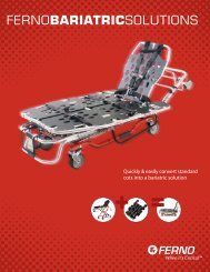 Bariatrics Product Brochure - Ferno