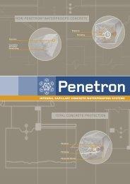 total concrete protection how penetron®waterproofs concrete