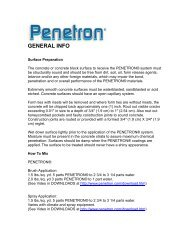 General Info Document - Penetron