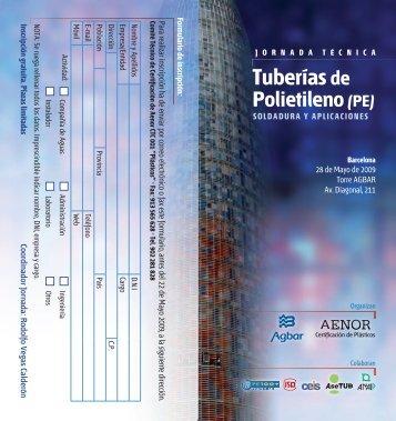 5_2009 Jornada Técnica tuberías PE 28.05.09 - Plomyplas
