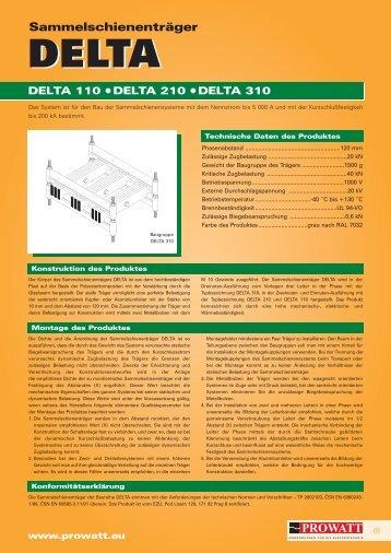 Katalog DELTA - Prowatt