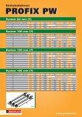 Katalog PROFIX PW - Prowatt - Seite 2