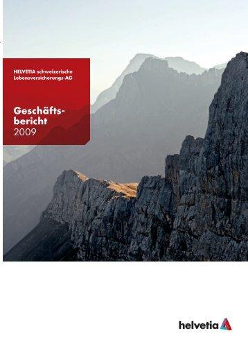 Geschäftsbericht Helvetia Leben 2009