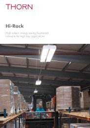 Hi-Rack - Thorn Lighting