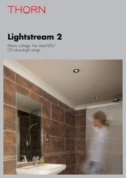 Lightstream 2 - Thorn Lighting