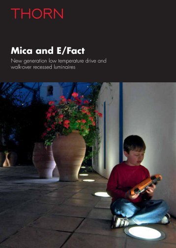 Mica and E/Fact - Thorn Lighting