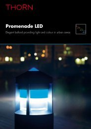 Promenade LED - Thorn Lighting