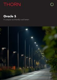 Oracle S - Thorn Lighting