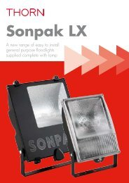 Sonpak LX - Thorn Lighting