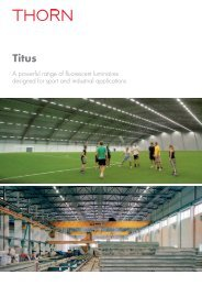 Titus Industry - Thorn Lighting