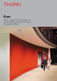 Cruz 115/160 V - Thorn Lighting