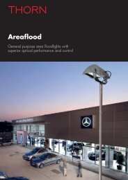 Areaflood - Thorn Lighting