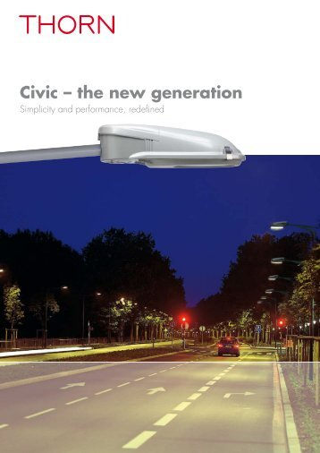 Civic – the new generation - Thorn Lighting