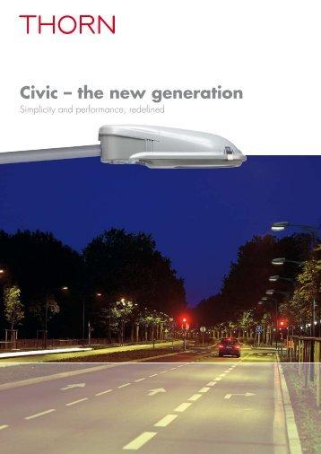 Civic – the new generation - Thorn Lighting