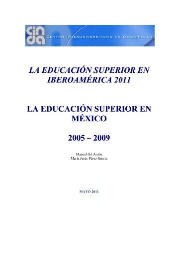 LA EDUCACIÓN SUPERIOR EN IBEROAMÉRICA 2011 ... - Universia