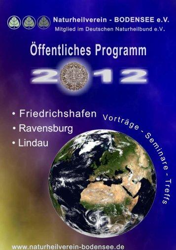 Friedrichshafen • Ravensburg • Lindau - Naturheilverein Bodensee eV
