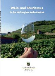 Wein und Tourismus in der Weinregion Saale ... - Hochschule Harz